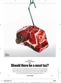 Titelbild der Ausgabe 8/2019 von HEAD-TO-HEAD: Should there be a meat tax?. Zeitschriften als Abo oder epaper bei United Kiosk online kaufen.