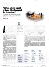 """Titelbild der Ausgabe 8/2019 von IT'S PERSONAL: """"Estate agents report a rising tide of demand for houseboats"""". Zeitschriften als Abo oder epaper bei United Kiosk online kaufen."""
