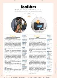 Titelbild der Ausgabe 3/2020 von Good ideas. Zeitschriften als Abo oder epaper bei United Kiosk online kaufen.