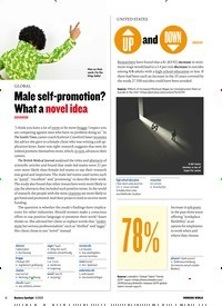 Titelbild der Ausgabe 3/2020 von GLOBAL: Male self-promotion? What a novel idea ADVANCED. Zeitschriften als Abo oder epaper bei United Kiosk online kaufen.