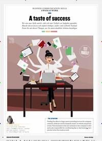 Titelbild der Ausgabe 1/2019 von BUSINESS COMMUNICATION SKILLS A WEEK AT WORK: A taste of success. Zeitschriften als Abo oder epaper bei United Kiosk online kaufen.
