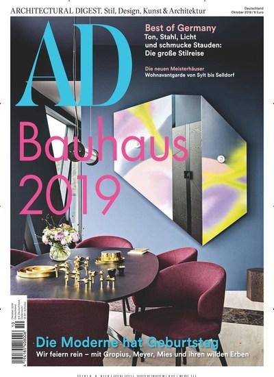 Aktuelles Titelbild Von AD Architectural Digest   Epaper. In Der Ausgabe  10/2018 Geht