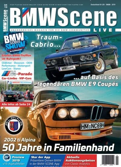 10321a5641 Aktuelles Titelbild von BMW Scene Live - epaper. Entdecken Sie jetzt die  Ausgabe 4/