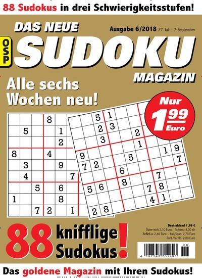 zeitschrift das neue sudoku magazin kaufen als epaper ab 1 79. Black Bedroom Furniture Sets. Home Design Ideas