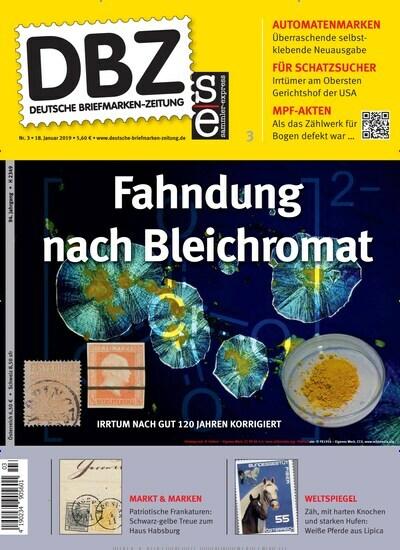 Dbz Deutsche Briefmarken Zeitung Als Epaper Bei United Kiosk