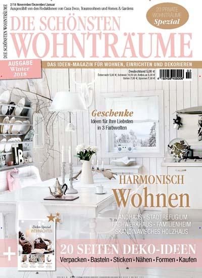 Die Schönsten Wohnträume Als Epaper Zeitschrift Bei United Kiosk