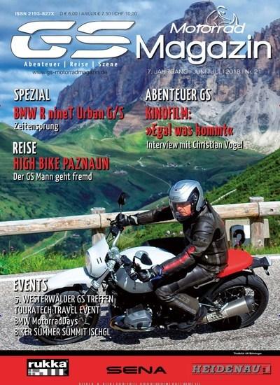 zeitschrift gs motorrad magazin kaufen als epaper ab 4 99. Black Bedroom Furniture Sets. Home Design Ideas