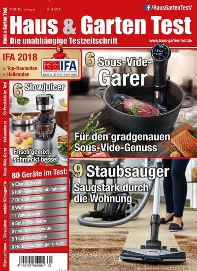 Haus und garten zeitschrift  Zeitschrift Haus & Garten Test kaufen als epaper ab 4,99€