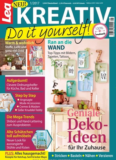 lea kreativ do it yourself als epaper f r 1 99