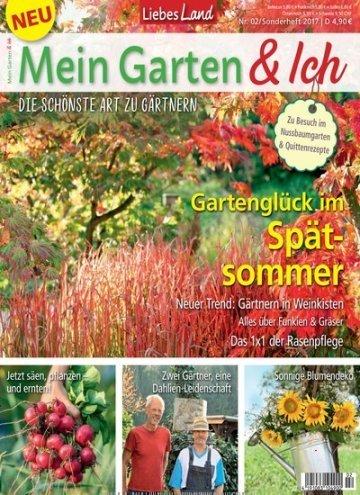 bfadbb7209025d Aktuelles Titelbild von Liebes Land Sonderheft Garten - epaper. In der  Ausgabe 2 2017