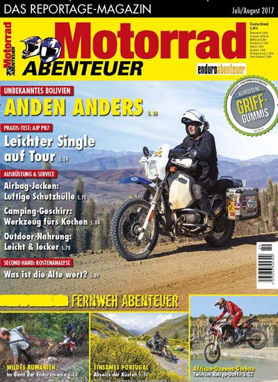 motorrad abenteuer als epaper ab 4 99. Black Bedroom Furniture Sets. Home Design Ideas