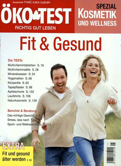 zeitschrift ko test spezial kosmetik und wellness kaufen ab 6 30. Black Bedroom Furniture Sets. Home Design Ideas