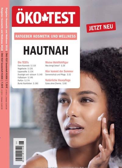 c4d8cb2a6e2b51 Aktuelles Titelbild von ÖKO-TEST Ratgeber Kosmetik und Wellness - epaper.  In der Ausgabe