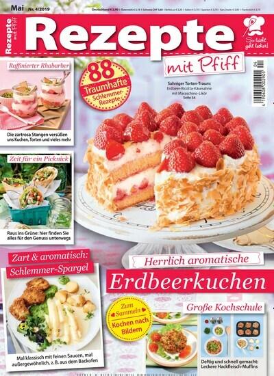 Aktuelles Titelbild Von Rezepte Mit Pfiff   Epaper. In Der Ausgabe 4/2019  Geht