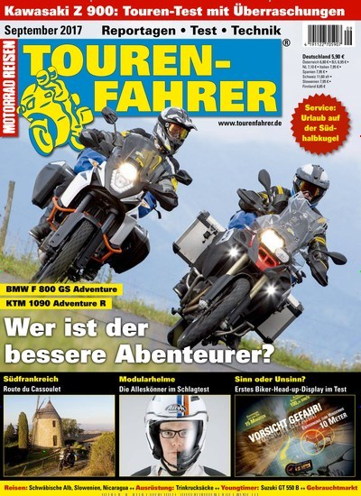 tourenfahrer motorrad reisen als epaper. Black Bedroom Furniture Sets. Home Design Ideas