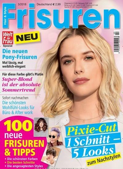Zeitschrift frisuren 2016