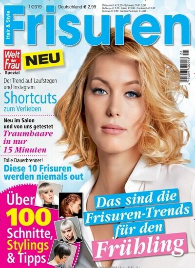 Welt Der Frau Frisuren Als Epaper Zeitschrift Bei United Kiosk