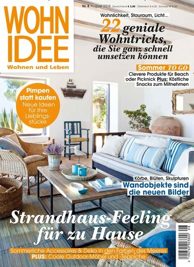wohnidee 30 tage gratis lesen. Black Bedroom Furniture Sets. Home Design Ideas