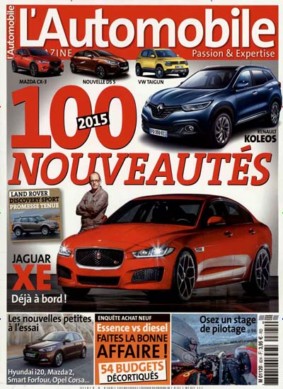 automobile magazine france als abo zeitschrift bei. Black Bedroom Furniture Sets. Home Design Ideas