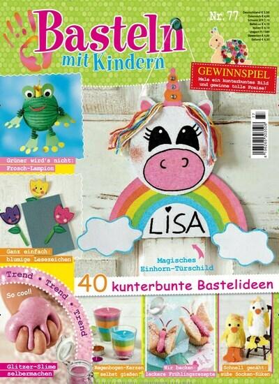 Basteln Mit Kindern Als Epaper Zeitschrift Bei United Kiosk Kaufen