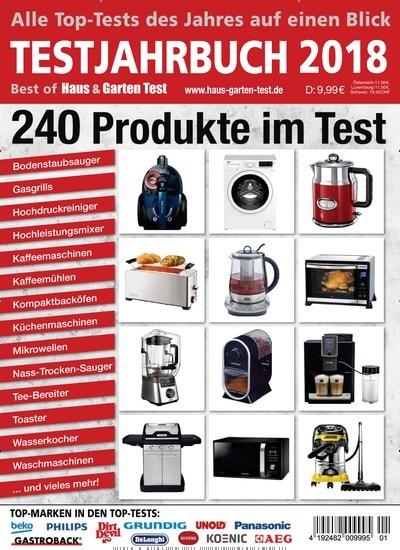 Zeitschrift Haus & Garten Test Testjahrbuch als epaper für 8,99€