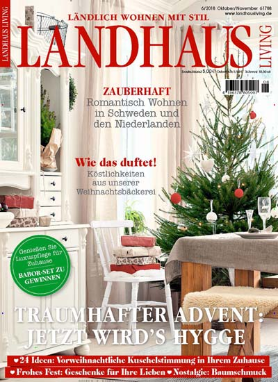 zeitschrift landhaus living kaufen als epaper ab 3 99. Black Bedroom Furniture Sets. Home Design Ideas