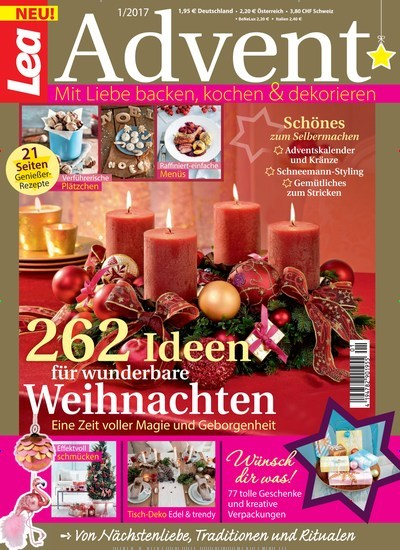 lea sonderheft advent als epaper f r 0 99. Black Bedroom Furniture Sets. Home Design Ideas
