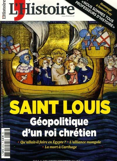 Aktuelles Titelbild von L'Histoire France. Entdecken Sie jetzt die Ausgabe 478/2020. Lesen Sie gerne Reisemagazine, Freizeitmagazine und Wissensmagazine? Dann empfehlen wir Ihnen L'Histoire France als Abo oder Geschenkabo.