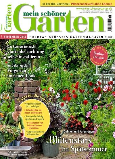 Aktuelles Titelbild Von Mein Schöner Garten   Epaper. In Der Ausgabe 9/2018  Geht