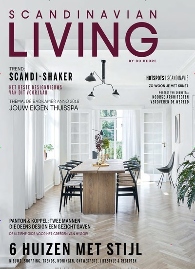 Scandinavian Living as an epaper for 3,95€