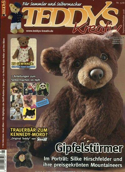 Zeitschrift TEDDYS kreativ im Abo kaufen ab 41,00€