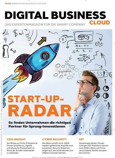 """Aktuelles Titelbild von Digital Business Cloud - epaper. In der Ausgabe 1/2020 geht es um die Themen: EDITORIAL: LIEBE LESERIN, LIEBER LESER,; START-UP-RADAR; GESPRENGTE KETTEN; TRÜBE AUSSICHT; PROBLEMÖSER IM MASCHINENRAUM; ALLES UNTER KONTROLLE; HAND IN HAND; SMARTER EINSTIEG: IN DIE IOT-TECHNOLOGIE; BEIDHÄNDIG ZUM ERFOLG; DIGITAL VOM WARENKORB BIS ZUM VERSAND; TURBO FÜR DEN KUNDENSERVICE; VON BRICK ZU CLICKS; PRAXISBEISPIEL: INNOVATION UND TRADITION BEI WELEDA; DIE MACHTSTRUKTUR ALS GRÖSSTE HERAUSFORDERUNG; SPRUNGINNOVATION IM SERVICE; NACHDENKEN STATT INS HAMSTERRAD GERATEN; DAS BÖSE SCHLÄFT NICHT; DIE CLOUD WIRD KLIMANEUTRAL; """"UNTERNEHMEN SOLLTEN SICH MEHR GEDANKEN MACHEN ALS BISHER""""; KÖNNEN WIR WAS AM PREIS MACHEN?; VOLLE KRAFT VORAUS; AUS DATEN WERDEN EINSICHTEN; EIN INVESTMENT, DAS WIRKUNG ZEIGT; FRISCH AUSGEPACKT. Lesen Sie gerne Businessmagazine? Dann empfehlen wir Ihnen Digital Business Cloud - epaper als digitales Abo (eAbo) und Einzelheft zum sofort Loslesen oder als Geschenkabo zum Vorbestellen."""