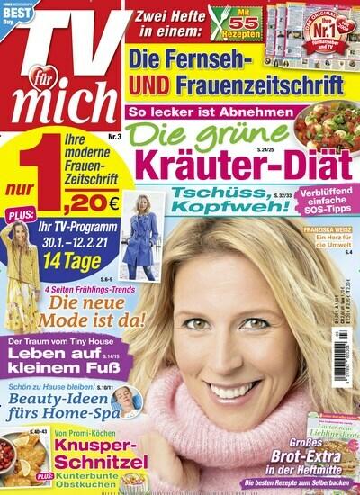 TV Zeitschrift im Abo kaufen und sofort online lesen
