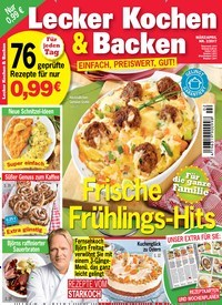 Lecker Zeitschrift Abo lecker kochen backen als epaper für 0 99