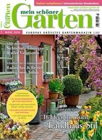 Titelbild Von Mein Schöner Garten   Epaper. Entdecken Sie Jetzt Die Ausgabe  3/2018