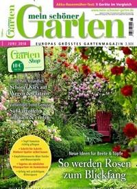 Titelbild Von Mein Schöner Garten   Epaper. Entdecken Sie Jetzt Die Ausgabe  6/2018