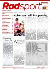 d408ae42e7 Titelbild von RadSport Aktuell - epaper. Entdecken Sie jetzt die Ausgabe 16/ 2019.