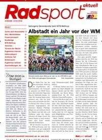 ac3b528cbf Titelbild von RadSport Aktuell - epaper. Entdecken Sie jetzt die Ausgabe 18/ 2019.
