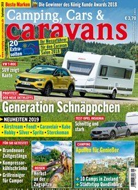 zeitschrift camping cars caravans kaufen als epaper ab 3 50. Black Bedroom Furniture Sets. Home Design Ideas