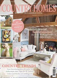 zeitschrift country homes kaufen als epaper ab 3 99. Black Bedroom Furniture Sets. Home Design Ideas