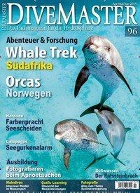 Aktuelles Titelbild von Divemaster - epaper. In der Ausgabe 2/2018 geht es um die Themen: Abenteuer & Forschung - Whale Trek Südafrika; Orcas - Norwegen; Nordsee - Farbenpracht Seescheiden. Lesen Sie gerne Sportmagazine? Dann empfehlen wir Ihnen Divemaster - epaper als digitales Abo (eAbo) und Einzelheft zum sofort Loslesen oder als Geschenkabo zum Vorbestellen.