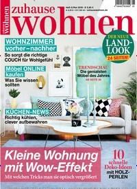 Wohn Zeitschriften zuhause wohnen 30 tage gratis lesen